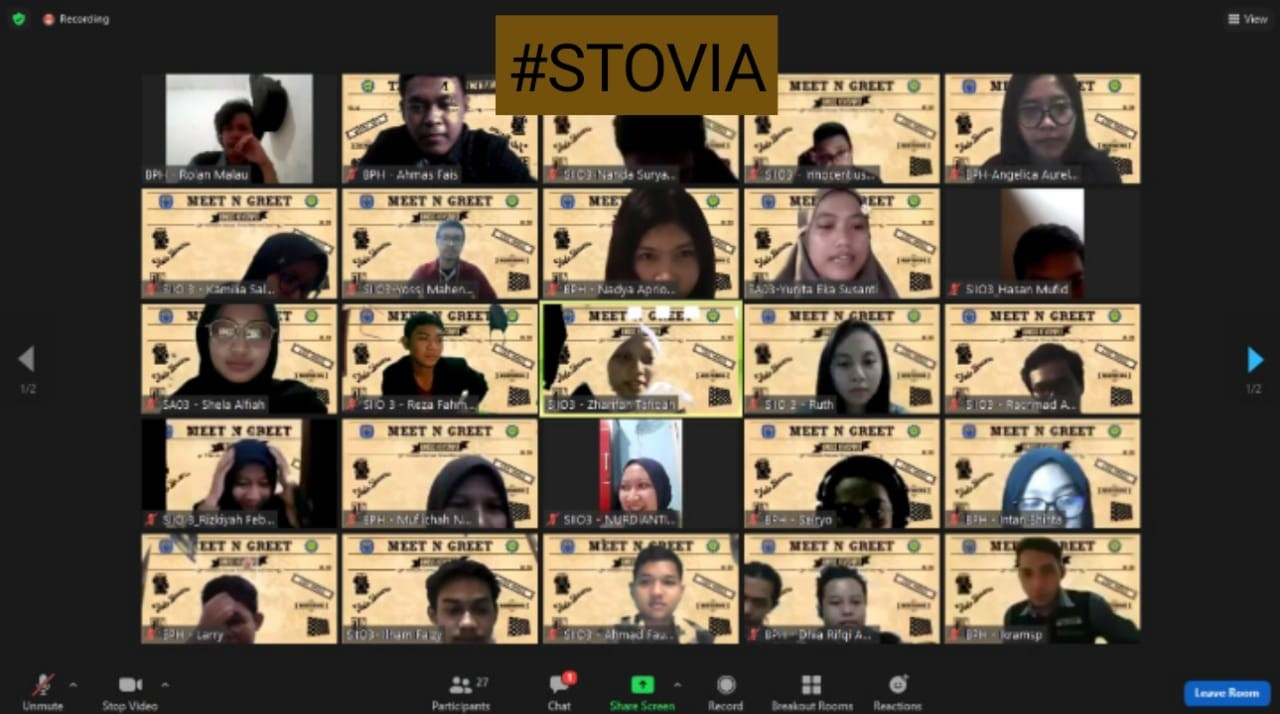 "Meet and Greet ""STOVIA"" 2020"