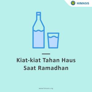 Kiat-Kiat Tahan Haus Saat Ramadhan. Nomor 7 Mencengangkan!!!