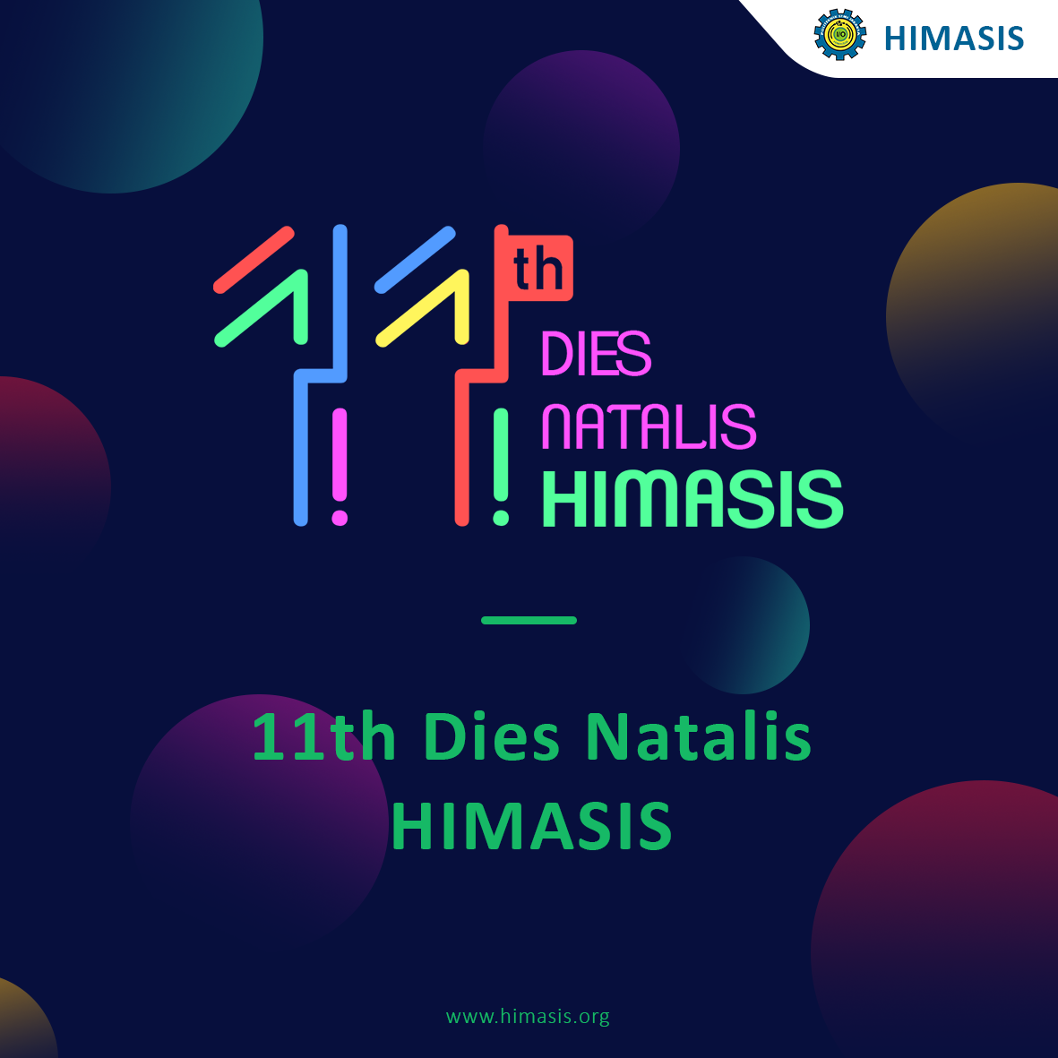 11th DIES NATALIES HIMASIS