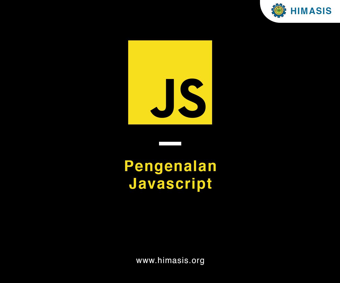 Materi: Pengenalan JavaScript