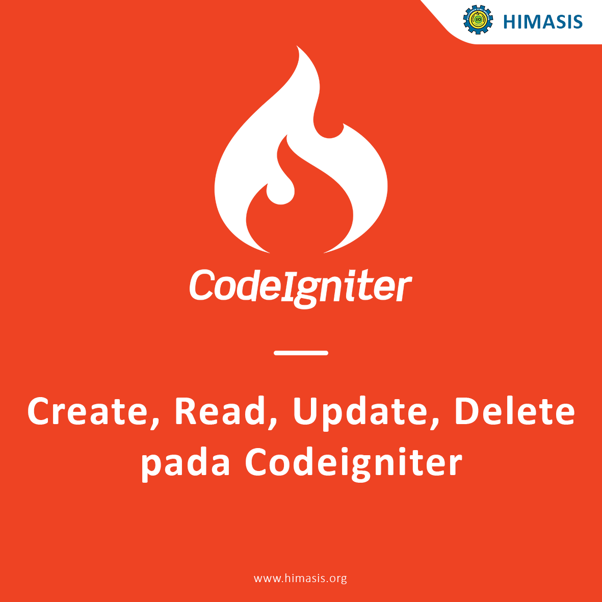 Create, Read, Update, Delete pada Codeigniter