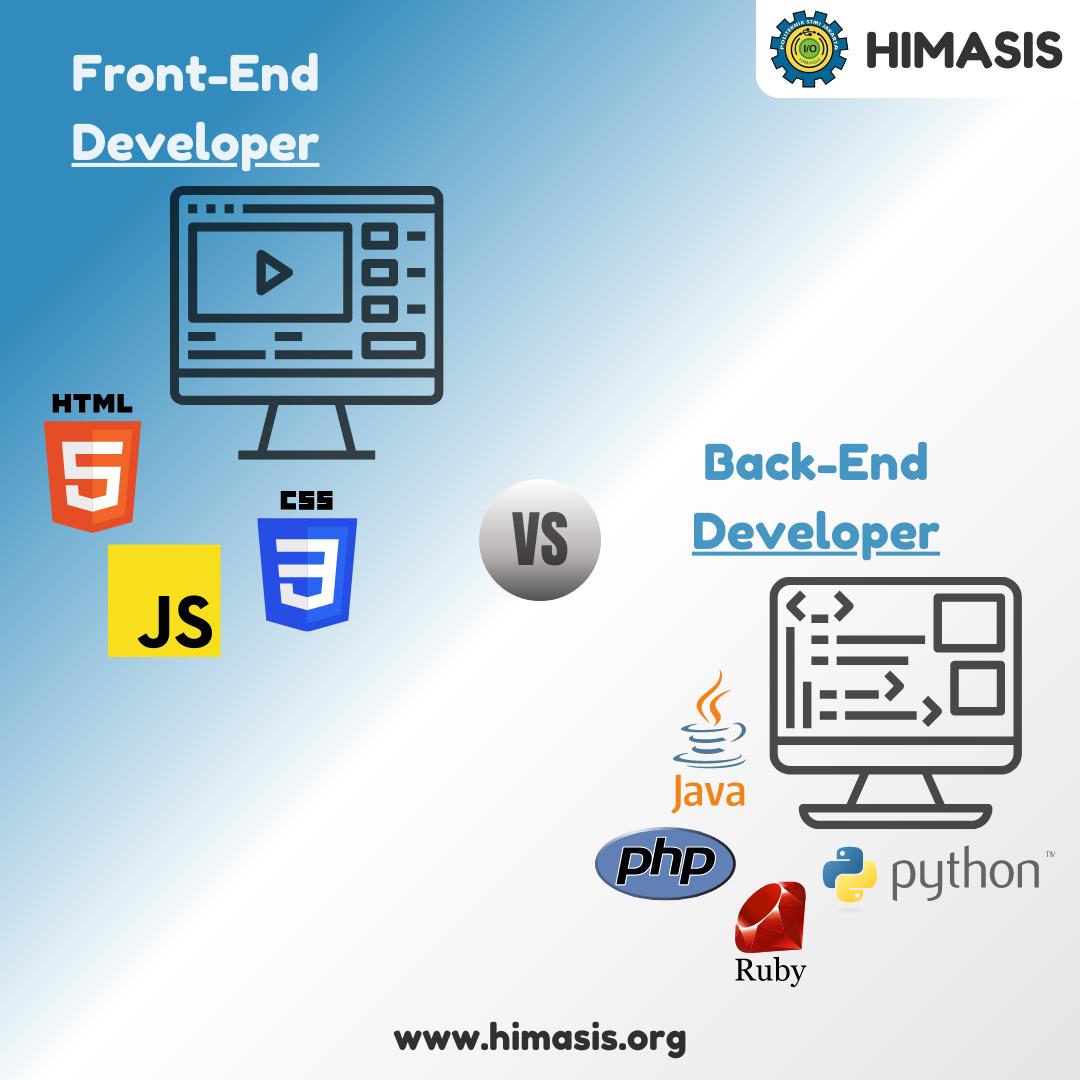 Materi: Front-End Developer VS Back-End Developer