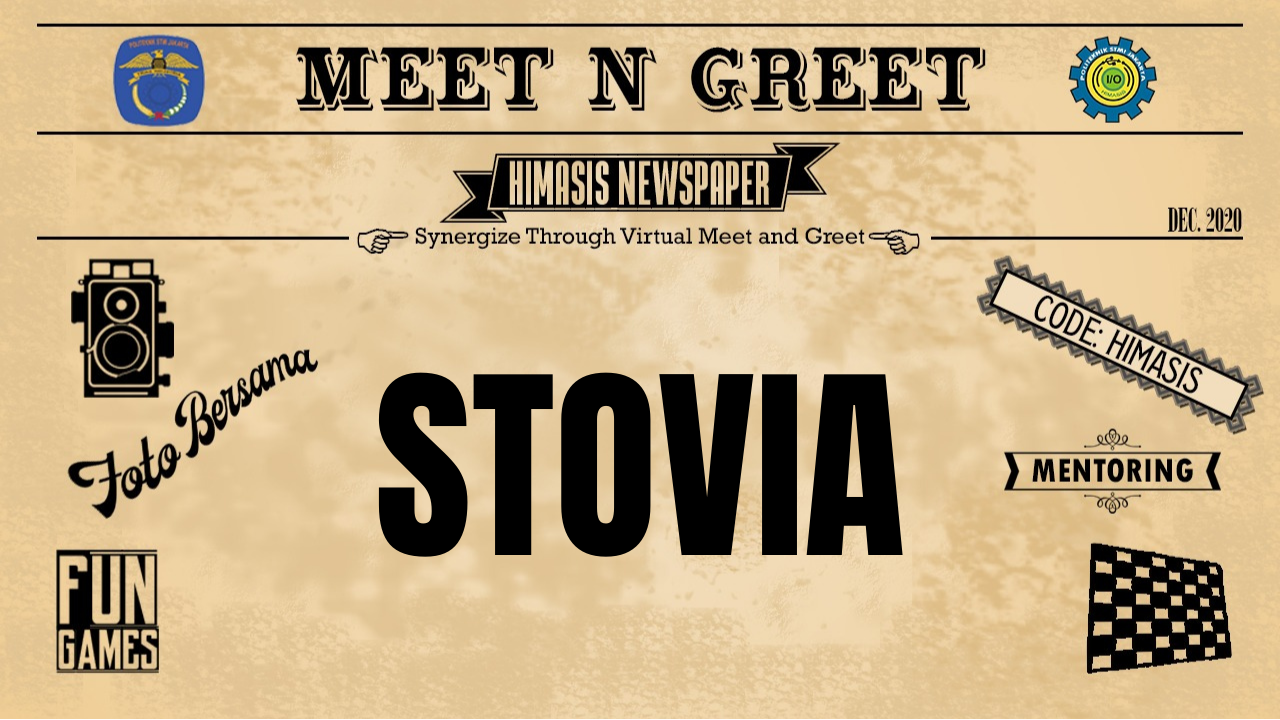 """After Event Meet and Greet 2020 """"STOVIA"""""""