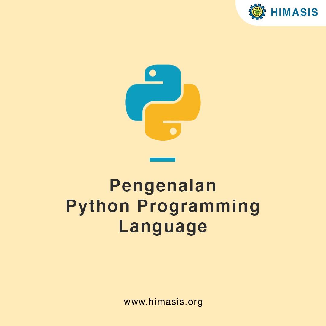 Materi: Pengenalan Python