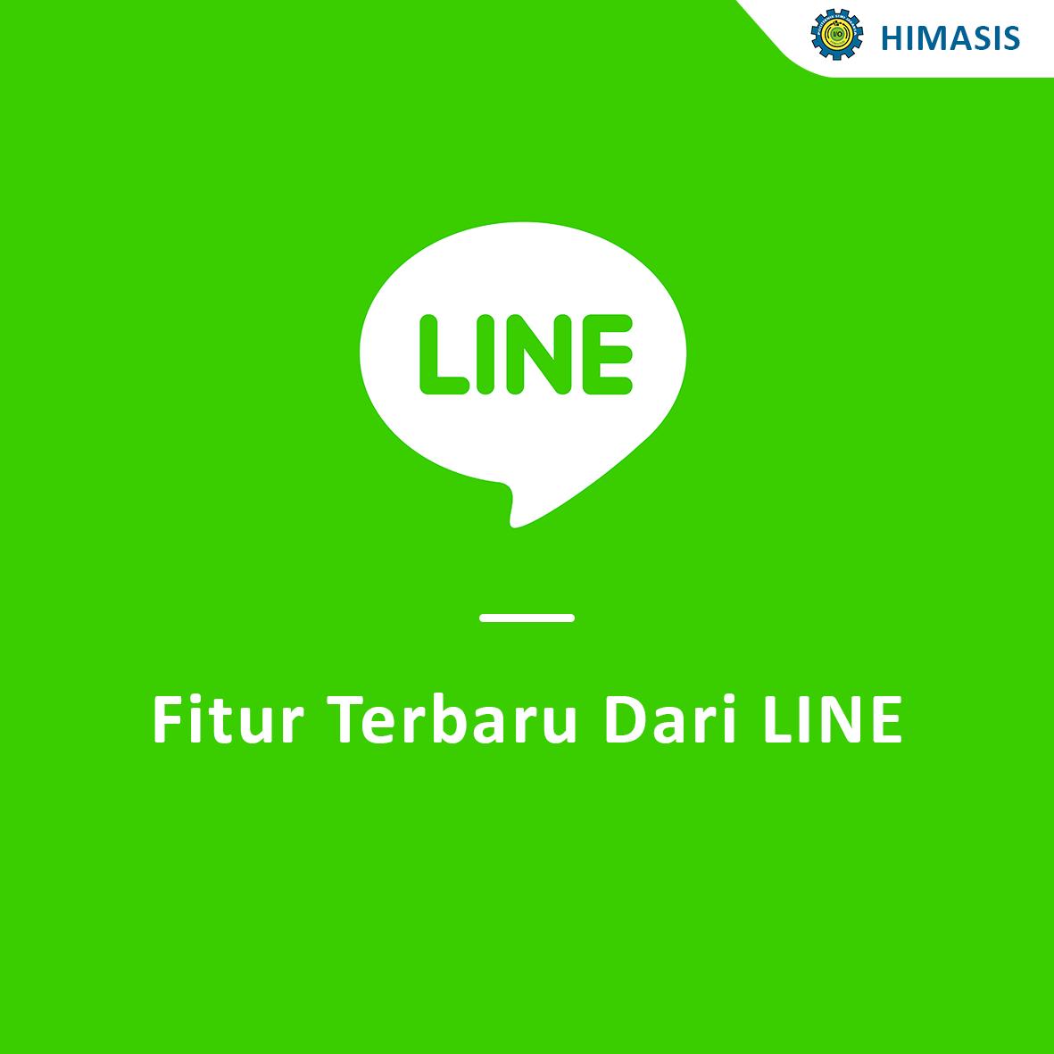 Fitur terbaru dari LINE