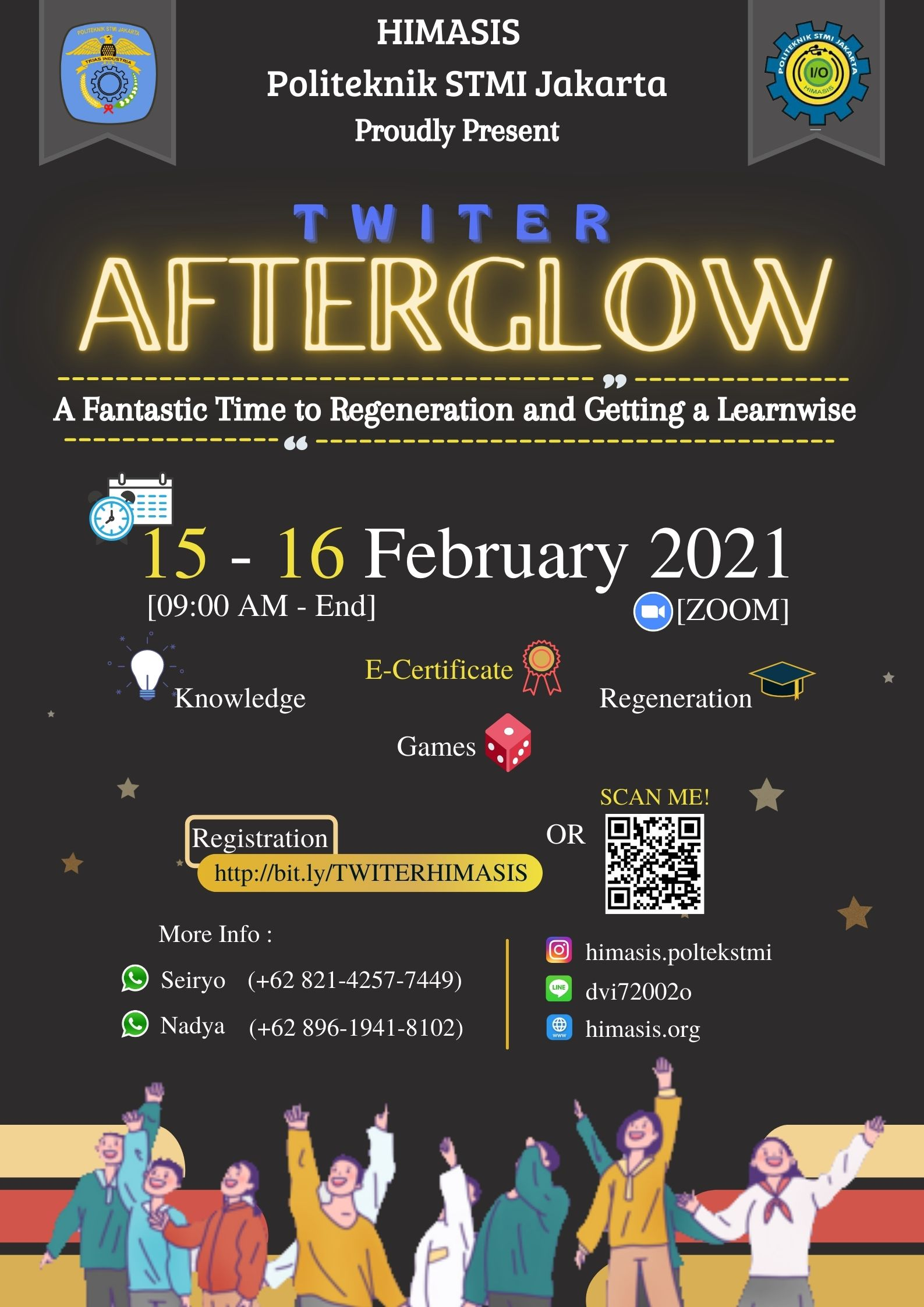 """Let's Go Join on Twiter """"AFTERGLOW"""""""