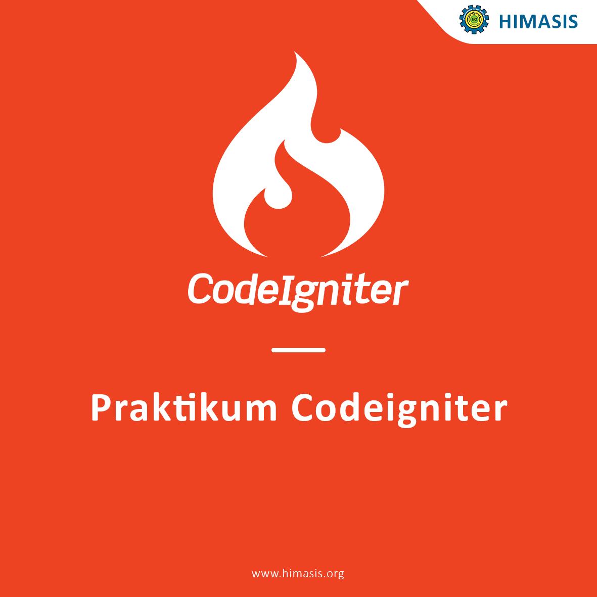 Praktikum Codeigniter