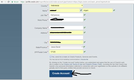 create account 1